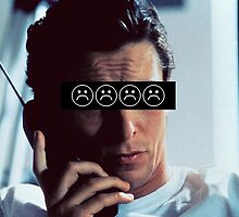 Patrick Bateman - Christian Bale - SADBOYS by frictionqt