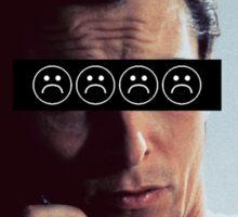 Patrick Bateman - Christian Bale - SADBOYS Sticker