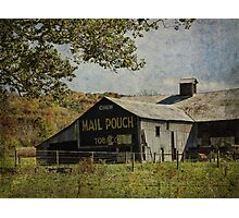 Chew Mail Pouch Photographic Print