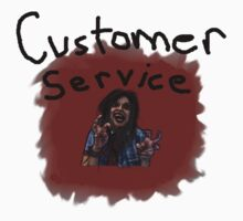 customer service zombie  by tia knight