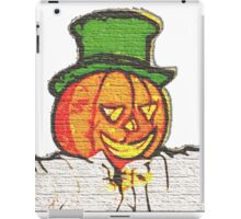 Top Hat Pumpkin iPad Case/Skin