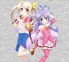 Fate/kaleid liner Prisma☆Illya - Non Non Biyori - Illyasviel von Einzbern and Renge Miyauchi - Crossover (cut) Unisex T-Shirt