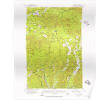 USGS Topo Map Washington State WA Humptulips 241608 1955 62500 Poster