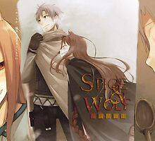 Ookami to Koushinryou - Spice and Wolf - Kraft Lawrence and Holo by frc qt