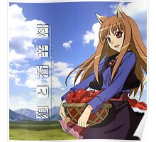 Ookami to Koushinryou - Spice and Wolf - Holo - Cleaned DVD 4 Poster