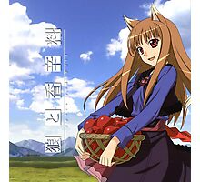 Ookami to Koushinryou - Spice and Wolf - Holo - Cleaned DVD 4 Photographic Print