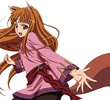 Ookami to Koushinryou - Spice and Wolf - Holo - TRANSPARENT (CUT RENDER) by frc qt