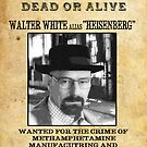 Wanted Dead or Alive : Walter White by HighDesign