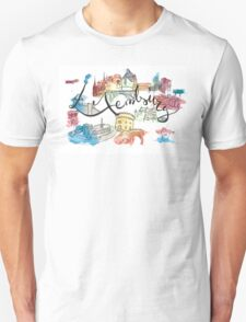 Tribute to Luxembourg Unisex T-Shirt