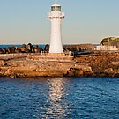 Wollongong Breakwater Lighthouse by Steve Randall