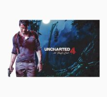 Uncharted 4 A thief's end Kids Tee