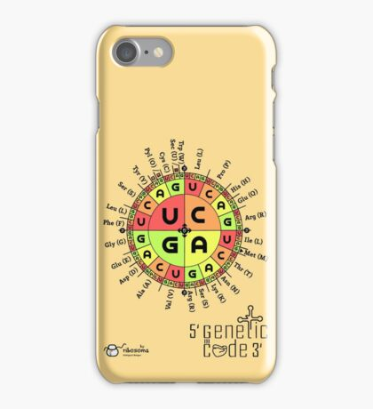 Genetic Code iPhone Case/Skin