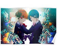 Persona - Makoto Yuki and Yukari Takeba - Guns Poster