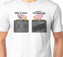 The Frivolous Life - Piggy Bank limited. Unisex T-Shirt