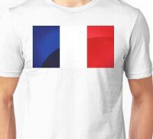 France Flag Circle Unisex T-Shirt