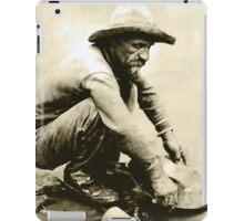 Old Miner iPad Case/Skin