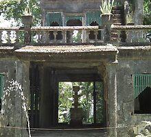panorella park castle ruins by geoffro13
