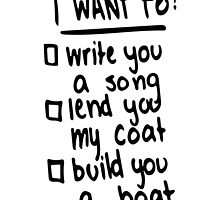 Made In The A.M. - I Want To Write You A Song by DramaticallyM