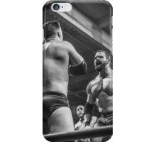 Man Vs Muscle iPhone Case/Skin