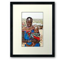 """a mother's love"" Framed Print"