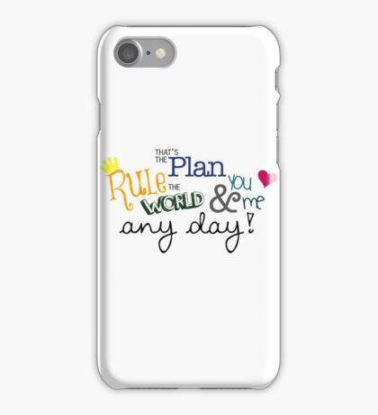 Rule the World iPhone Case/Skin