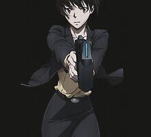 Psycho-Pass - Akane Tsunemori by frictionqt