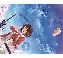 Saekano: How to Raise a Boring Girlfriend - Saenai Kanojo no Sodate-kata - Megumi Katou (text) Photographic Print