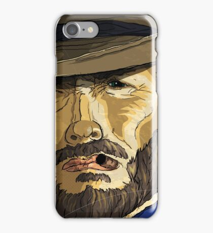 The Coolness of Mr. Eastwood by Todd Bane iPhone Case/Skin