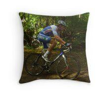 Cyclo cross in Baarlo (nl) Throw Pillow