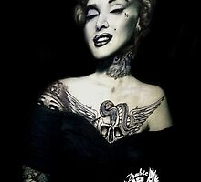 Ms Marilyn Suicide II (Case) by VON ZOMBIE ™©®