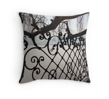 Decorative Ironwork Throw Pillow