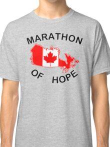 Marathon of Hope, 1980 v3 Classic T-Shirt