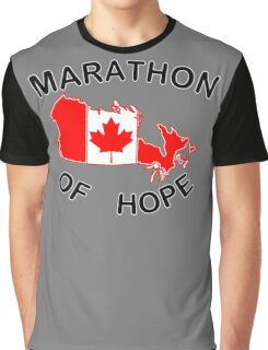 Marathon of Hope, 1980 v3 Graphic T-Shirt