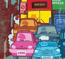 London Traffic by drawgood