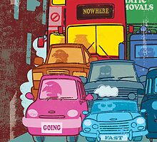 London Traffic by drawgood
