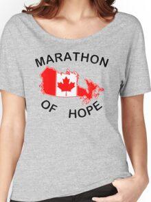 Marathon of Hope, 1980 v4 Women's Relaxed Fit T-Shirt