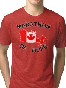 Marathon of Hope, 1980 v4 Tri-blend T-Shirt