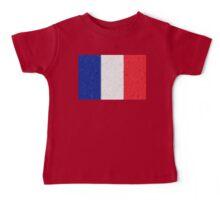France Flag Mosaic Baby Tee