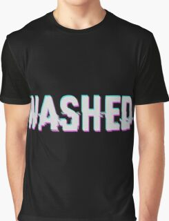 WASHED - GLITCH - TYPOGRAPHY - NOISE (DIRTY) Graphic T-Shirt