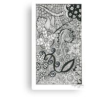 Flower Garden - Love Canvas Print