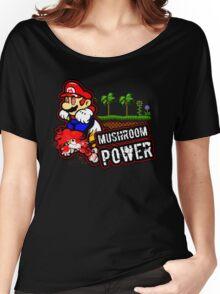 Mushroom Power Women's Relaxed Fit T-Shirt