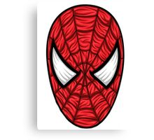 Spiderman Mask Canvas Print