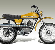 Gilera 50RS Trial by Tony  Newland