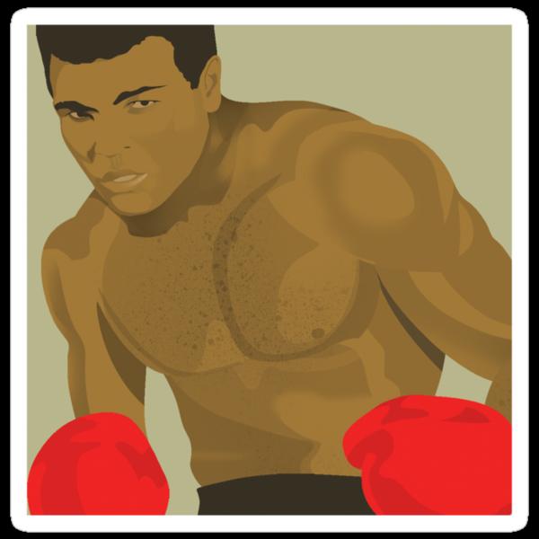 Muhammad Ali by drawgood