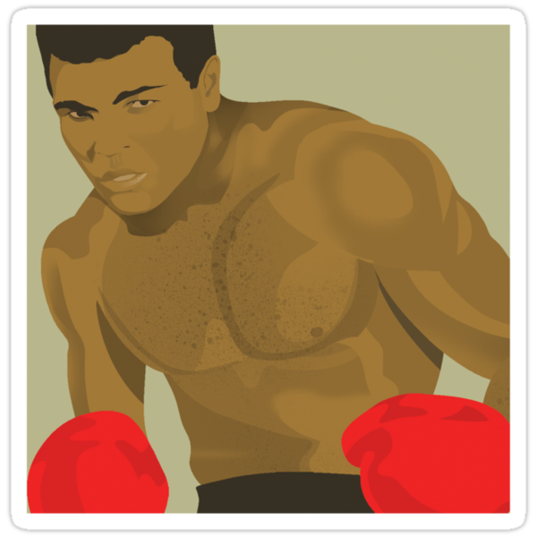 Muhammad Ali by drawgood