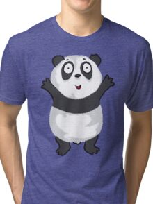 Panda Hug Tri-blend T-Shirt