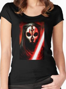 Darth Nihilus - KOTOR 2 - STAR WARS - Knights of the Old Republic 2 Women's Fitted Scoop T-Shirt