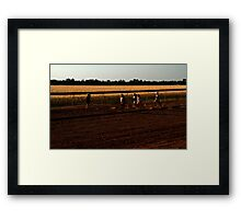 Country Races - Talwood Framed Print