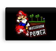 Mushroom Power (Print Version) Canvas Print