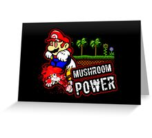 Mushroom Power (Print Version) Greeting Card